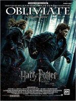 Obliviate : Harry Potter and the Deathly Hallows, Part 1, Piano Solo, Sheet - Alexandre Desplat
