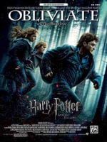 Obliviate (from Harry Potter and the Deathly Hallows, Part 1) : From Warner Bros. Pictures Harry Potter and the Deathly Hallows, Big Note Piano Edition - Alexandre Desplat