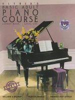 Alfred's Basic Adult Piano Course Lesson Book, Level One : Book & DVD - Willard A Palmer