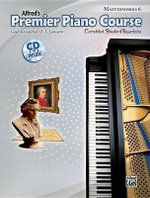 Premier Piano Course Masterworks, Bk 6 : Correlated Standard Repertoire, Book & CD