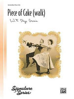 A Piece of Cake (Walk) : Sheet - W. T. Skye Garcia