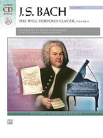 Bach -- The Well-Tempered Clavier, Vol 2 : Comb Bound Book