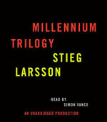 Stieg Larsson Millennium Trilogy Audiobook CD Bundle : The Girl with the Dragon Tattoo, the Girl Who Played with Fire, and the Girl Who Kicked the Hornet's Nest - Stieg Larsson