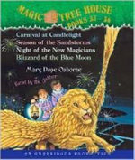 Magic Tree House: Books 33-36 : #33 Carnival at Candlelight; #34 Season of the Sandstorms; #35 Night of the New Magicians; #36 Blizzard of the Blue Moon - Mary Pope Osborne
