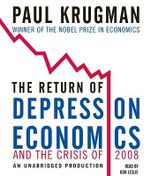 The Return of Depression Economics and the Crisis of 2008 - Paul Krugman