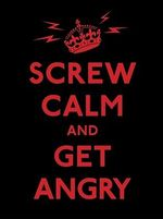 Screw Calm and Get Angry : Resigned Advice for Hard Times - Andrews McMeel Publishing