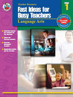 Fast Ideas for Busy Teachers : Language Arts, Grade 1 - Patricia McFadden