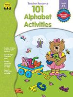 101 Alphabet Activities, Grades Preschool - K - Lisa Schwimmer Marier