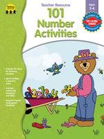 101 Number Activities, Grades Preschool - K - Gayle Bittinger