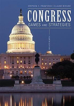 Congress : Games and Strategies - Stephen E. Frantzich