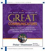 Great Communicators : Best Kept - Thompson Peter