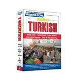 Pimsleur Basic Turkish : Simon & Schuster's Pimsleur - Pimsleur Language Programs