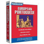 Portuguese (European), Compact : Learn to Speak and Understand European Portuguese with Pimsleur Language Programs - Pimsleur