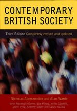 Contemporary British Society - Nicholas Abercrombie