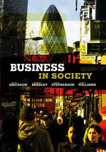 Business in Society : People, Work and Organization - Mark Erickson