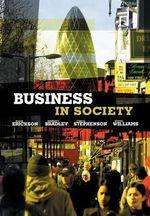 Business in Society - Mark Erickson
