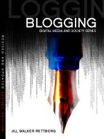 Blogging - Jill Walker Rettberg