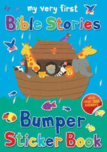 My Very First Bible Stories Bumper Sticker Book - Lois Rock