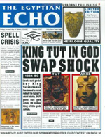 The Egyptian Echo - Paul Dowswell