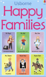 Happy Families Game : Usborne Snap Cards Series - Jo Litchfield