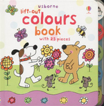 Lift-Out Colours Book : With 25 Pieces - Felicity Brooks