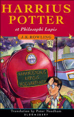Harry Potter & the Philosopher's Stone (Latin edition) - J. K. Rowling