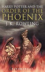 Harry Potter and the Order of the Phoenix (Adult Edition) : Harry Potter Series : Book 5 - J. K. Rowling