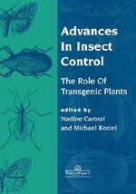 Advances in Insect Control : Role of Transgenic Plants