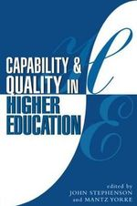 Capability and Quality in Learning - John Stephenson