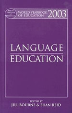 Language Education 2003 : Language Education