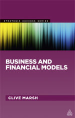 Business and Financial Models - Clive Marsh