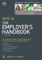 The Employer's Handbook 2015-16 - Barry Cushway