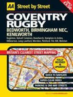AA Street by Street Coventry, Rugby - Automobile Association