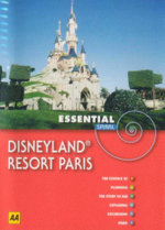 AA Essential Sprial Travel Guide Disneyland Resort Paris 