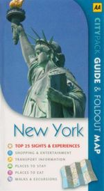 AA CityPack Travel Guide New York City : AA CITY/TWIN PACKS - Kate Sekules