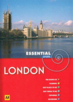 AA Essential Spiral Travel Guide London