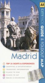 AA CityPack Travel Guide Madrid  - AA Publishing