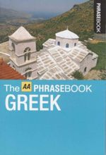 AA Phrasebook Pocket Greek - AA Publishing