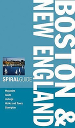 AA Spiral Guide : Boston and New England - AA Publishing