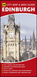 AA City Map & Mini Guide Edinburgh - AA Publishing