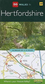 AA 50 Walks in Hertfordshire - AA Publishing