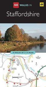 AA 50 Walks in Staffordshire - AA Publishing