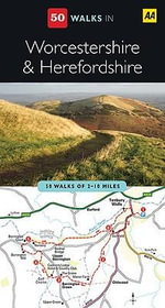 AA 50 Walks Herefordshire Worcestershire  - AA Publishing