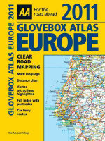 AA Glovebox Atlas Europe - AA Publishing