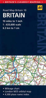 AA Road Map Britain 10 : Britain - AA Publishing