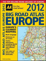 AA Big Road Atlas Europe 2012  - AA Publishing