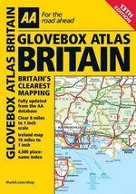 AA Glovebox Atlas Britain -  AA Publishing