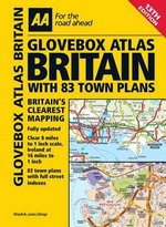 AA Glovebox Atlas Britain with 83 Town Plans  : AA PUBLISHING - AA Publishing