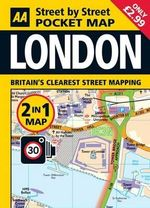 London Pocket Map - AA Publishing
