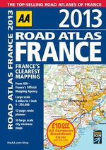 AA Road Atlas France 2013 - AA Publishing
